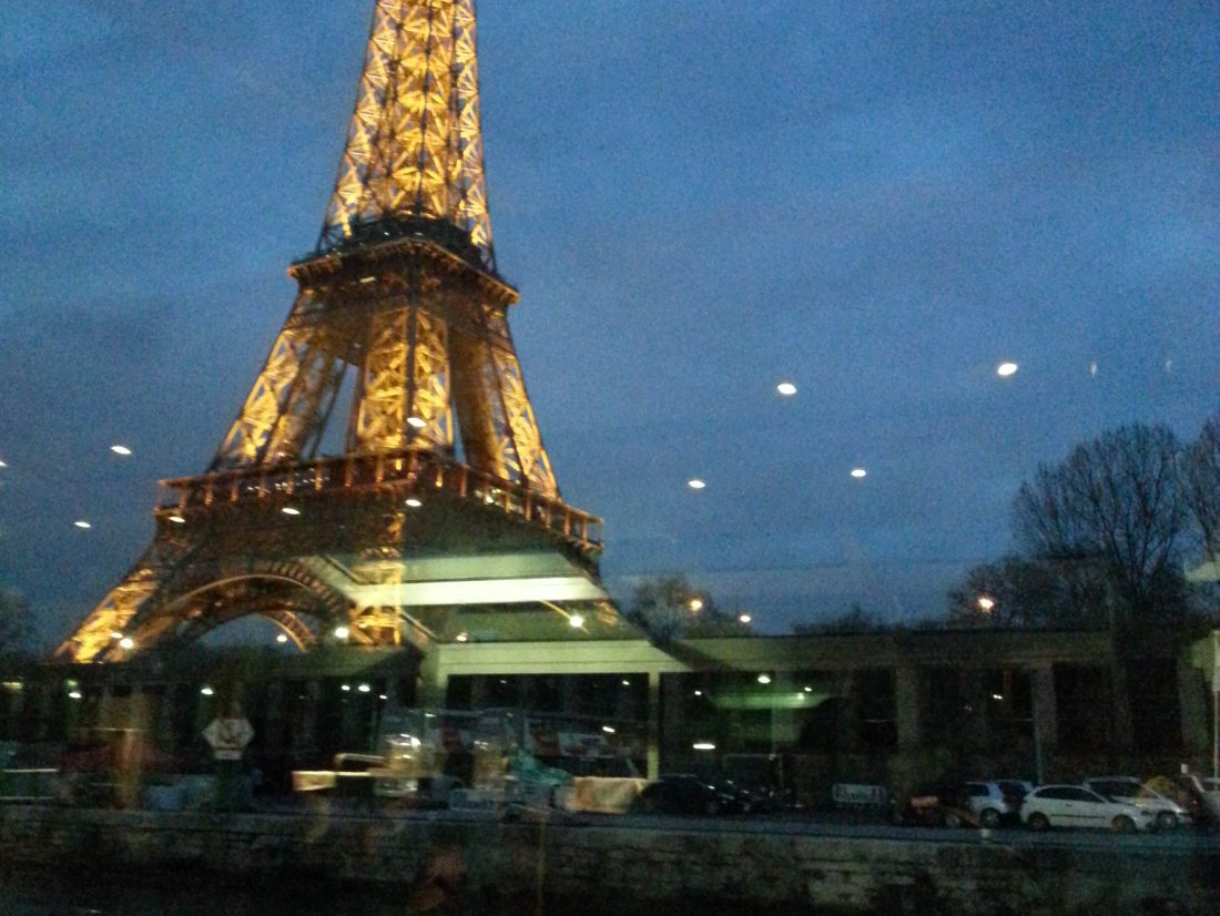 Diner croisière sur la Seine avec «paris en scène»