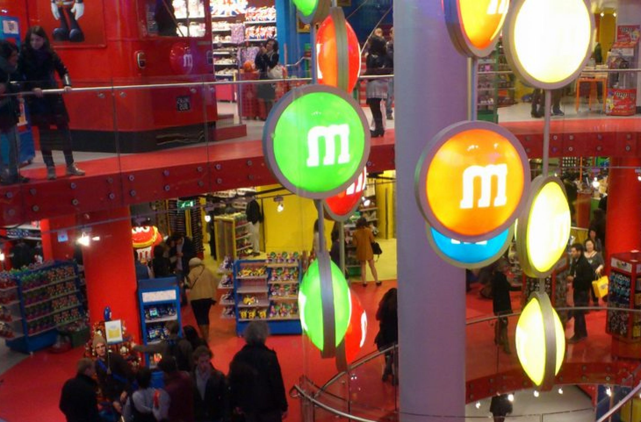 Magasin M&M'S Londres