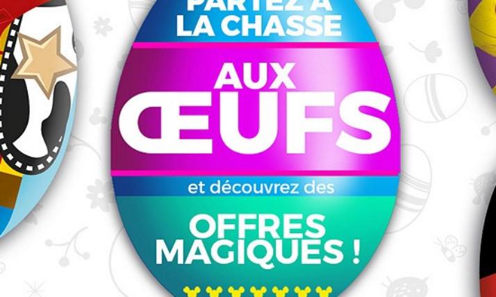 Disney Store La Chasse aux œufs: bénéficiez de codes promo exclusifs!