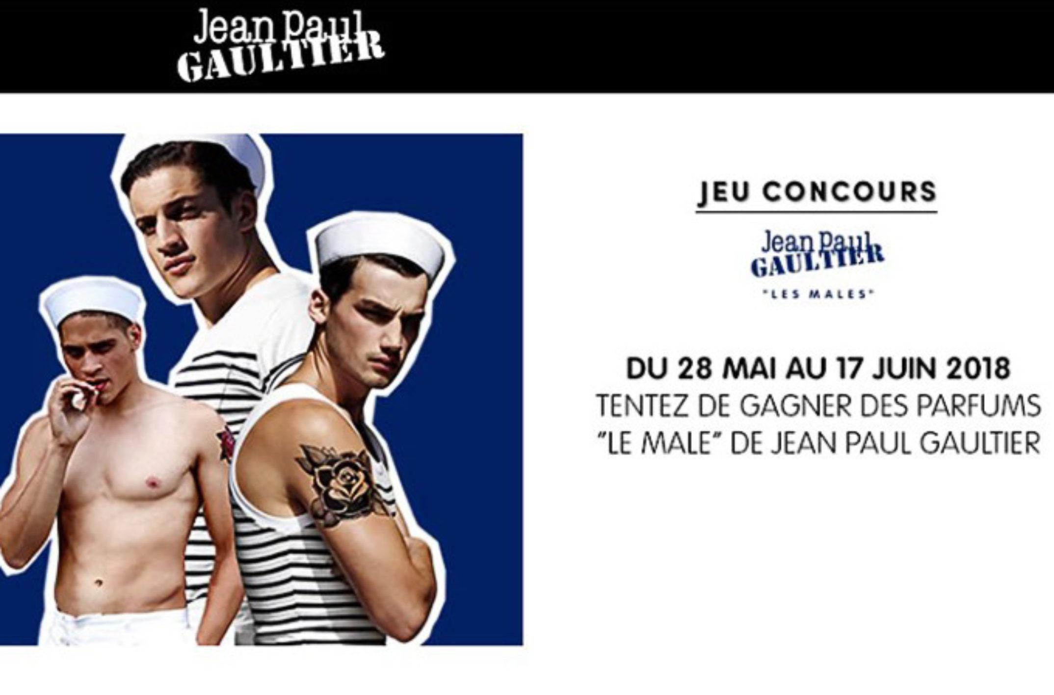 21 packs de parfums «Le Male» de Jean Paul Gaultier à gagner